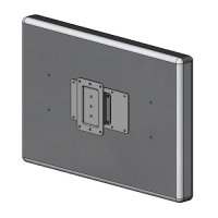 LCD TV slim wall mount