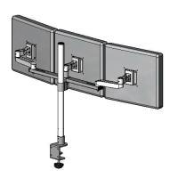 3 LCDs in 1 row mount stand