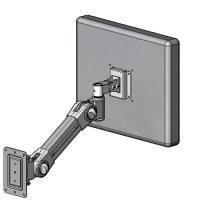 Wall mount LCD monitor arm