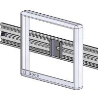 LCD Track Mount